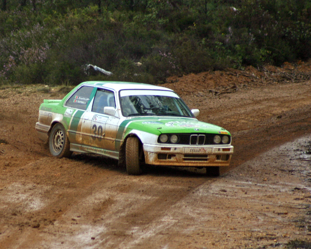 cars dust rally mud HD Wallpaper