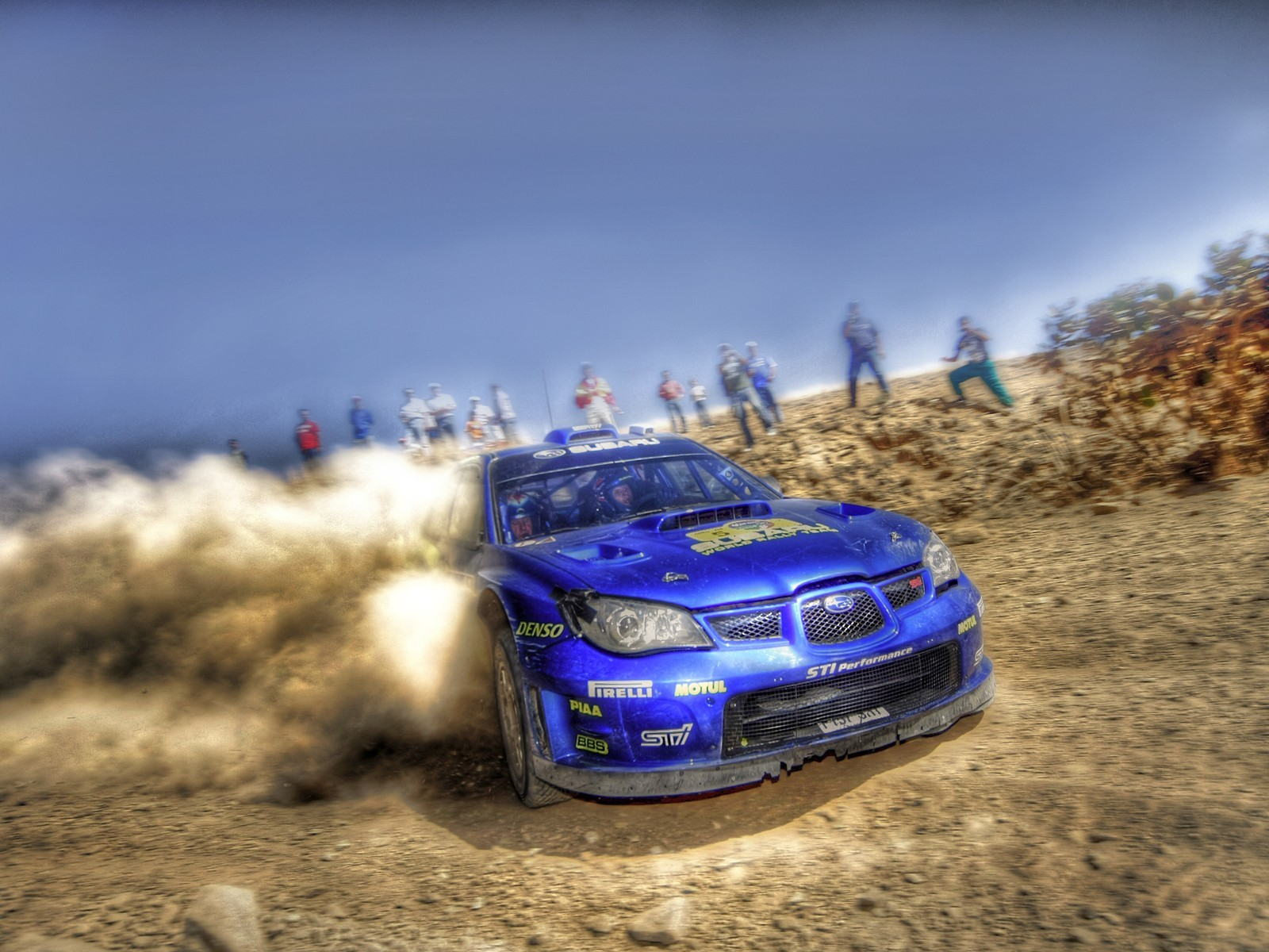 cars dust rally Subaru HD Wallpaper