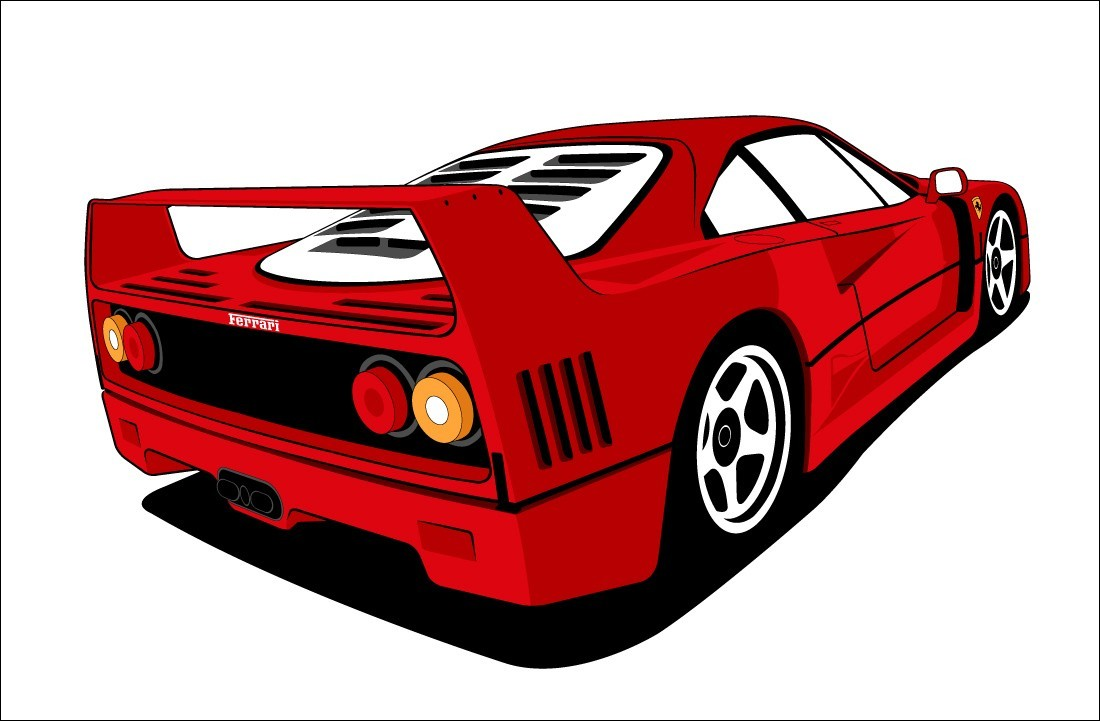 cars Ferrari digital art HD Wallpaper