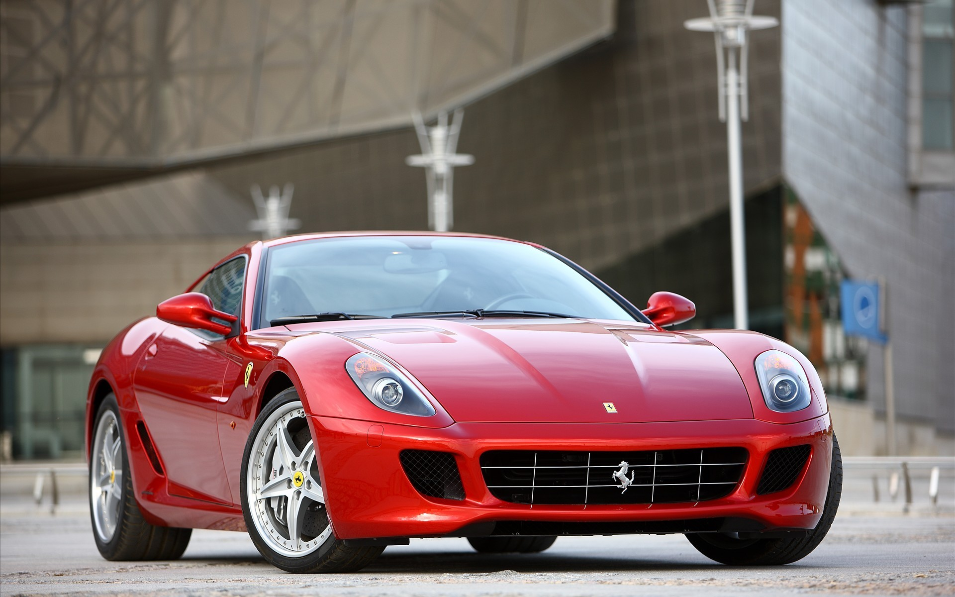 cars Ferrari Ferrari 599 HD Wallpaper