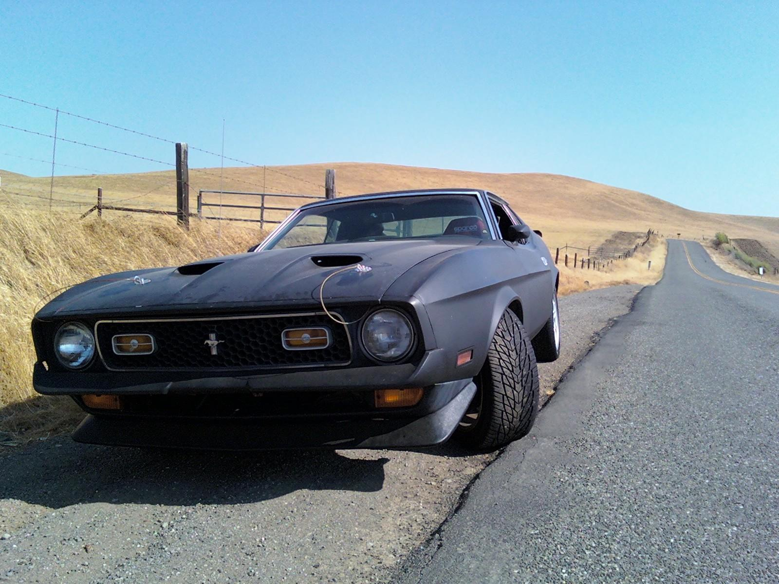 cars Ford Mustang Mach HD Wallpaper