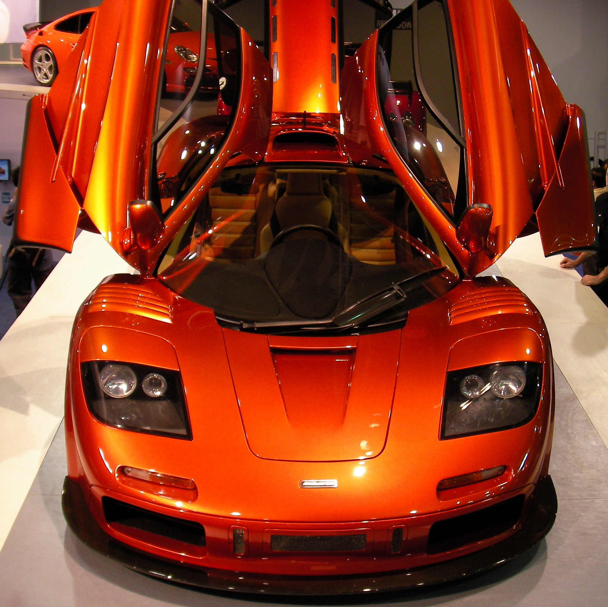 cars front vehicles McLaren
