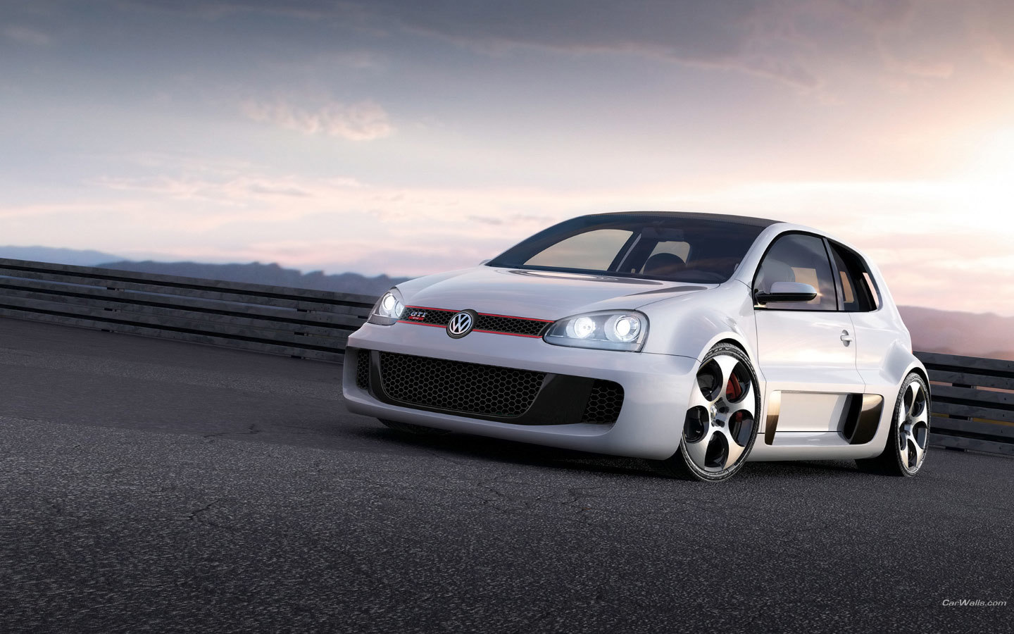 cars golf GTI vehicles HD Wallpaper