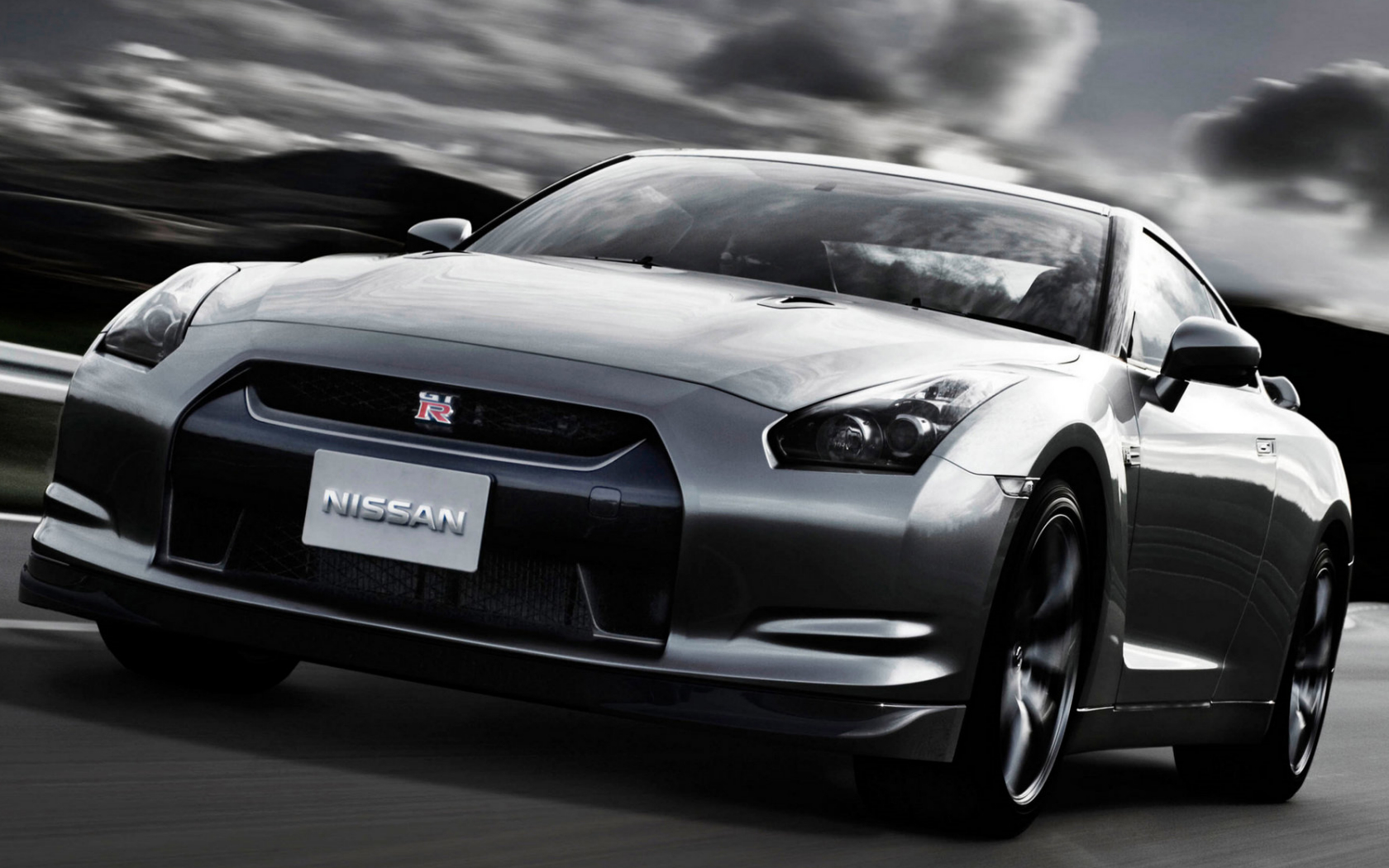 cars grayscale Nissan skyline HD Wallpaper
