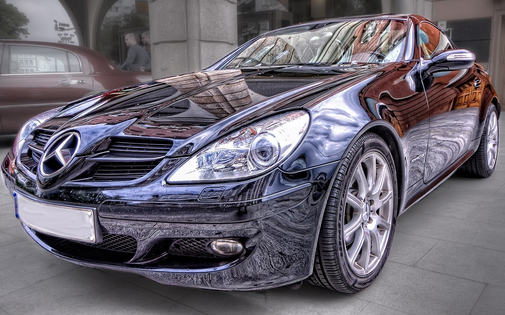 cars HDR Photography Mercedes-Benz HD Wallpaper