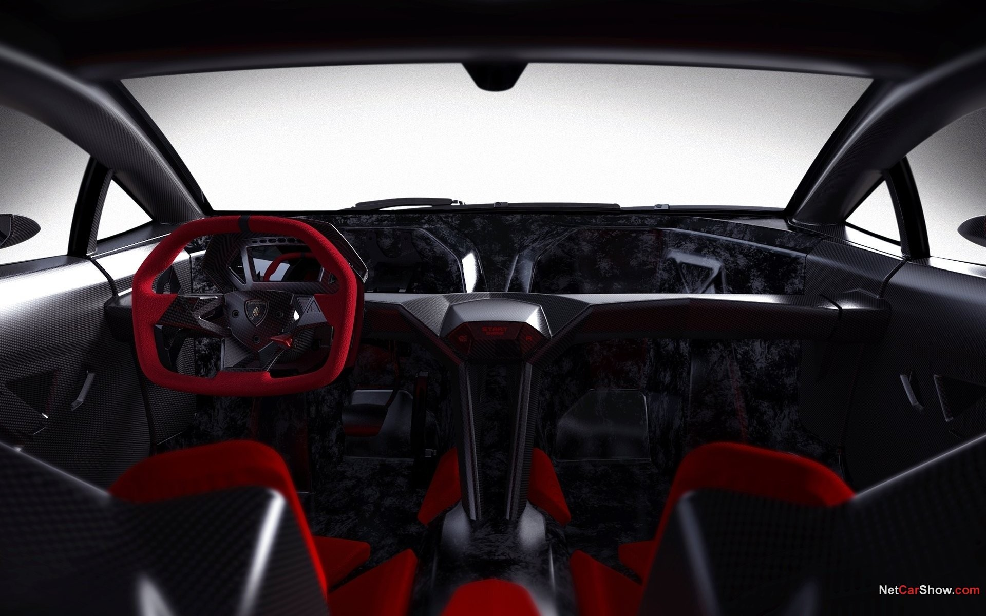 cars interior Lamborghini Sesto HD Wallpaper