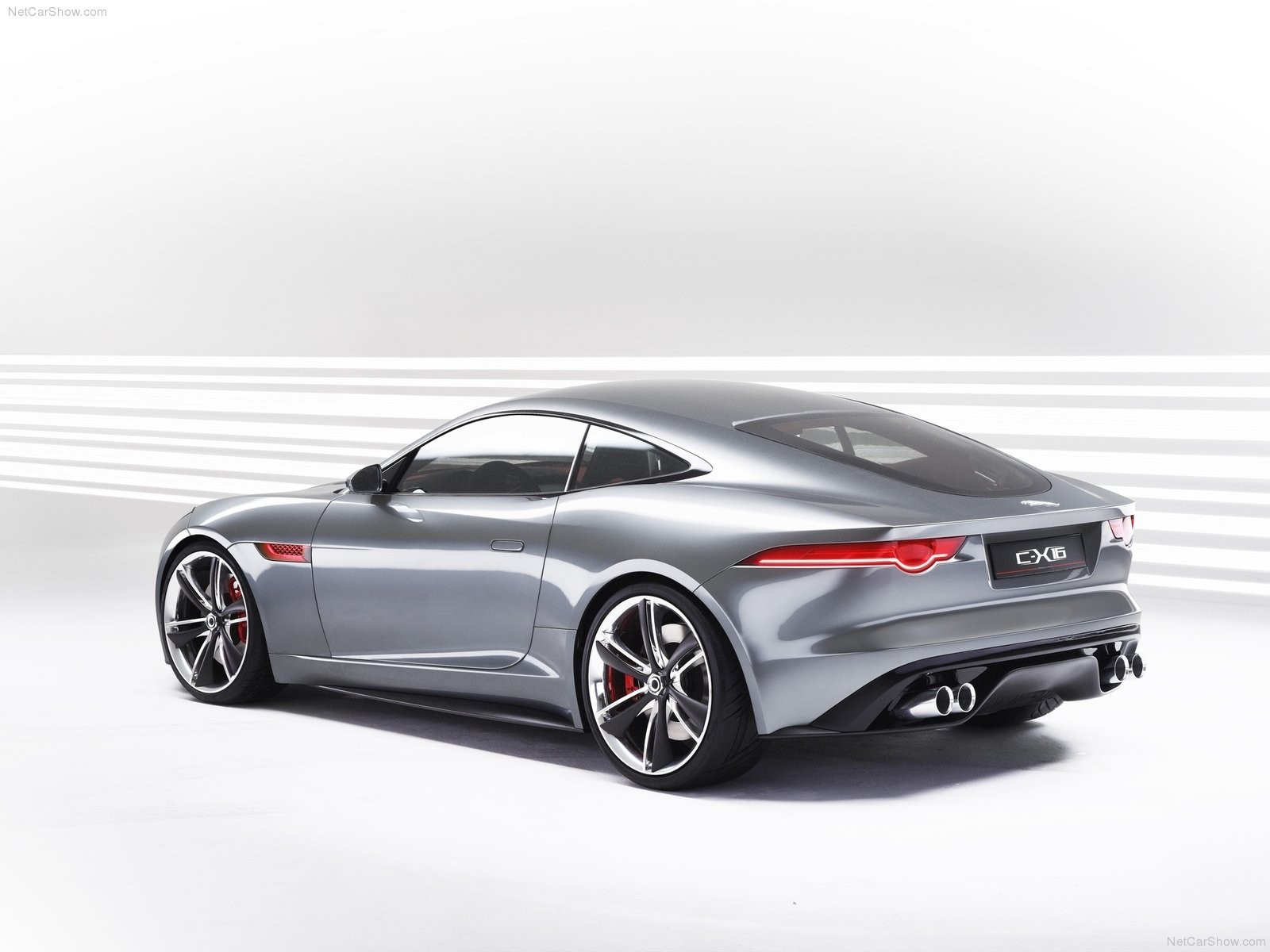 cars Jaguar C-X16 Concept HD Wallpaper