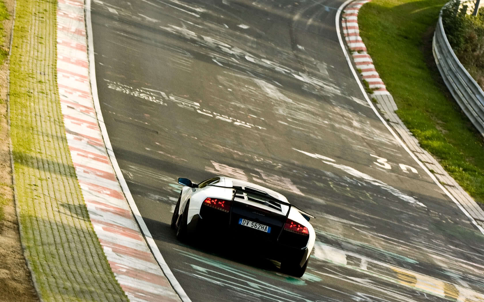 cars Lamborghini vehicles Nürburgring HD Wallpaper
