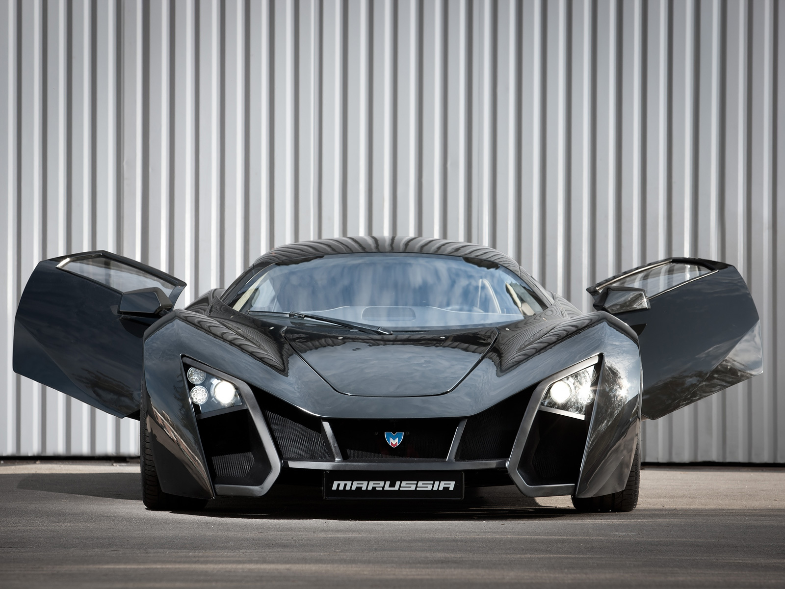 cars marussia front view HD Wallpaper