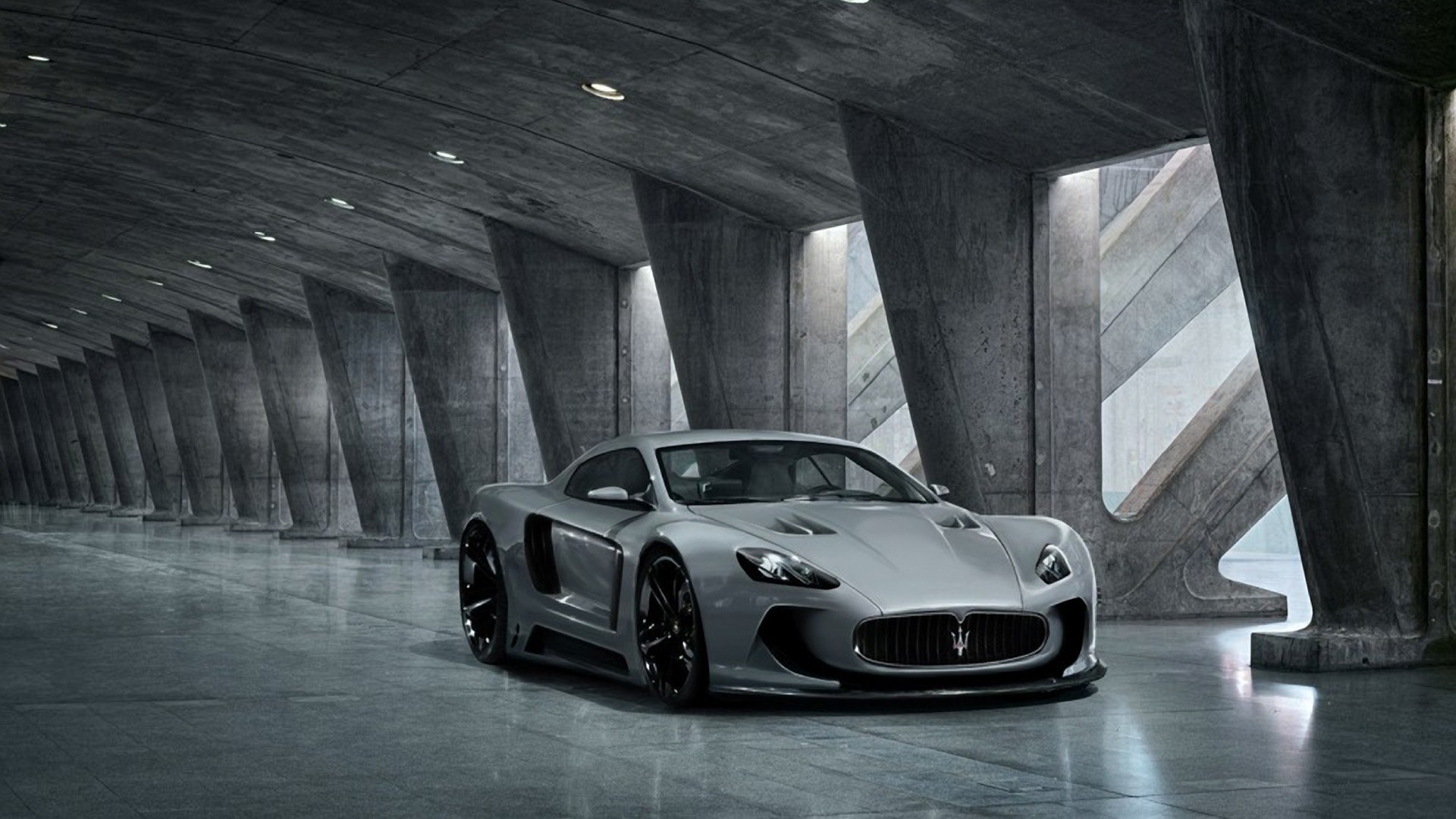 cars Maserati vehicles concept HD Wallpaper