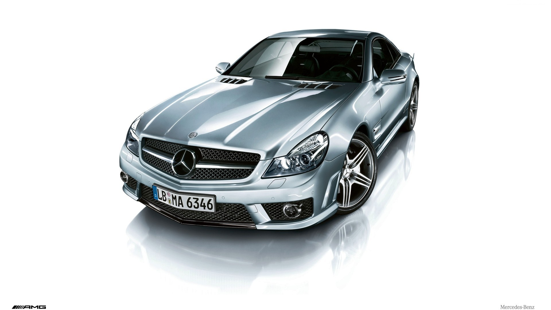 cars Mercedes-Benz Mercedes-Benz SL-Class HD Wallpaper