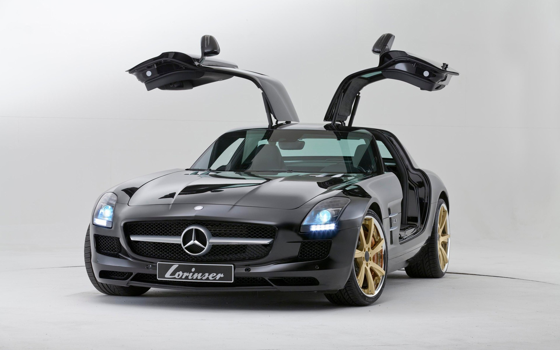 cars Mercedes-Benz Mercedes-Benz SLS HD Wallpaper