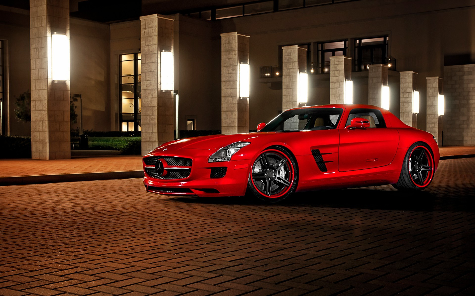 cars Mercedes-Benz Mercedes-Benz SLS AMG E-Cell HD Wallpaper