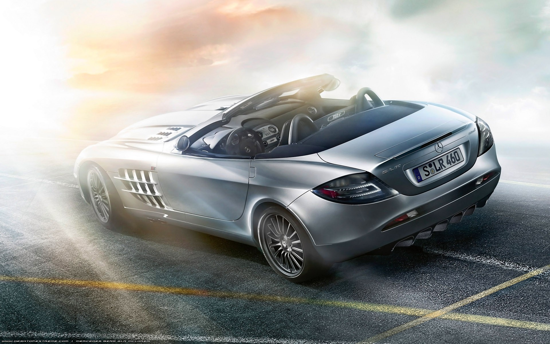 cars Mercedes-Benz Mercedes SLR HD Wallpaper