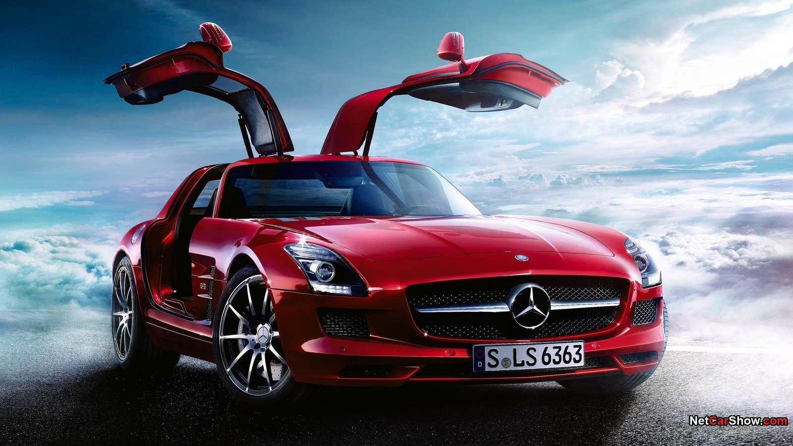 cars mercedes-benz sls amg
