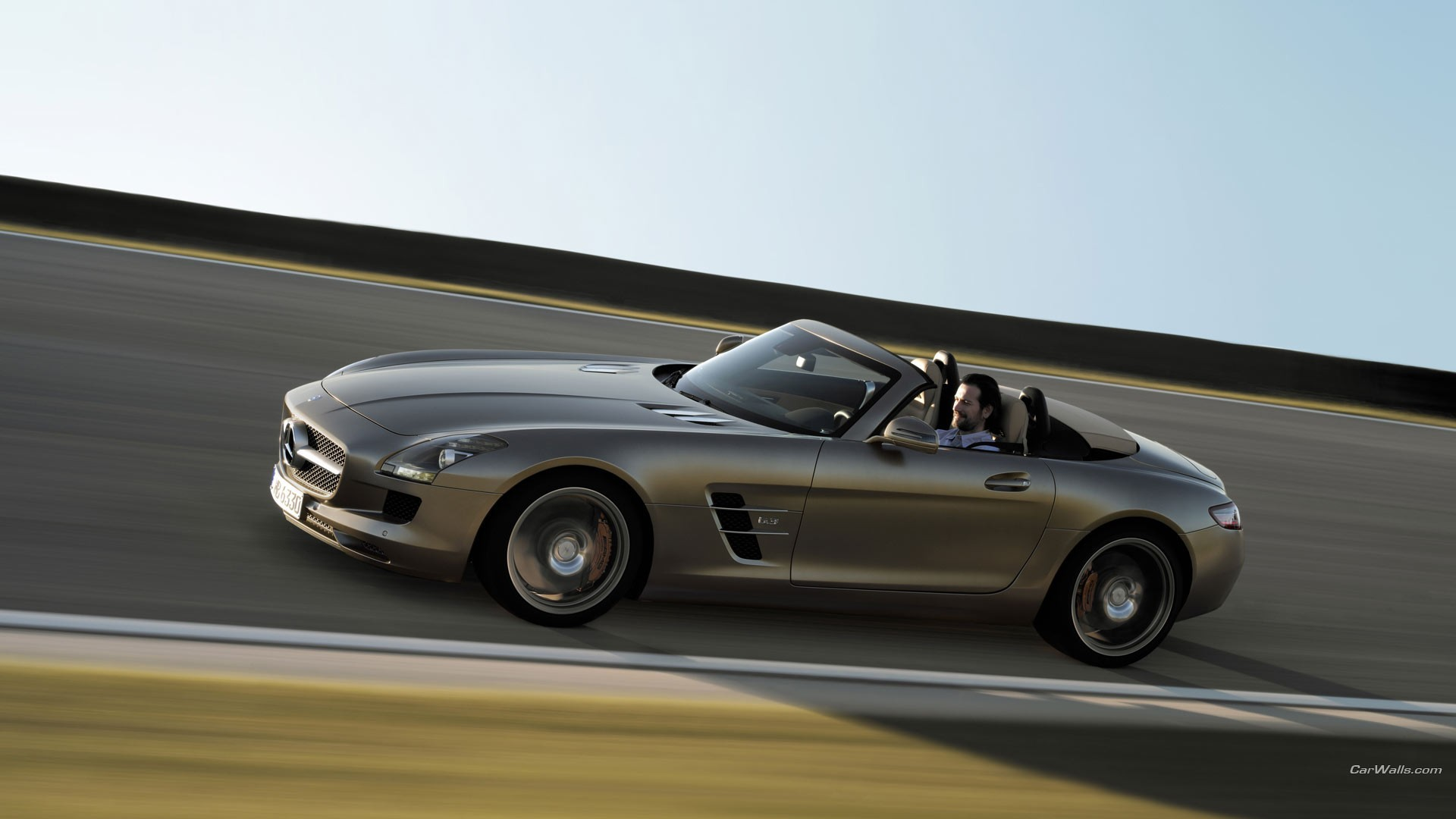 cars mercedes-benz sls amg HD Wallpaper