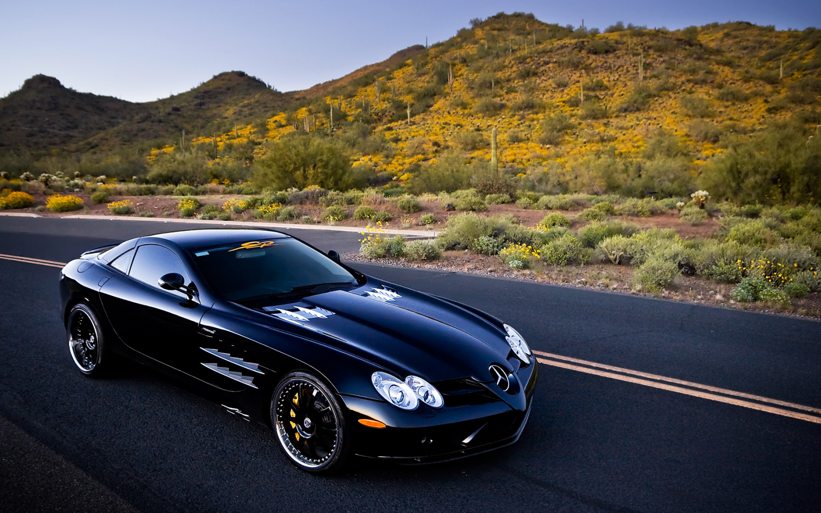 cars Mercedes SLR Car HD Wallpaper