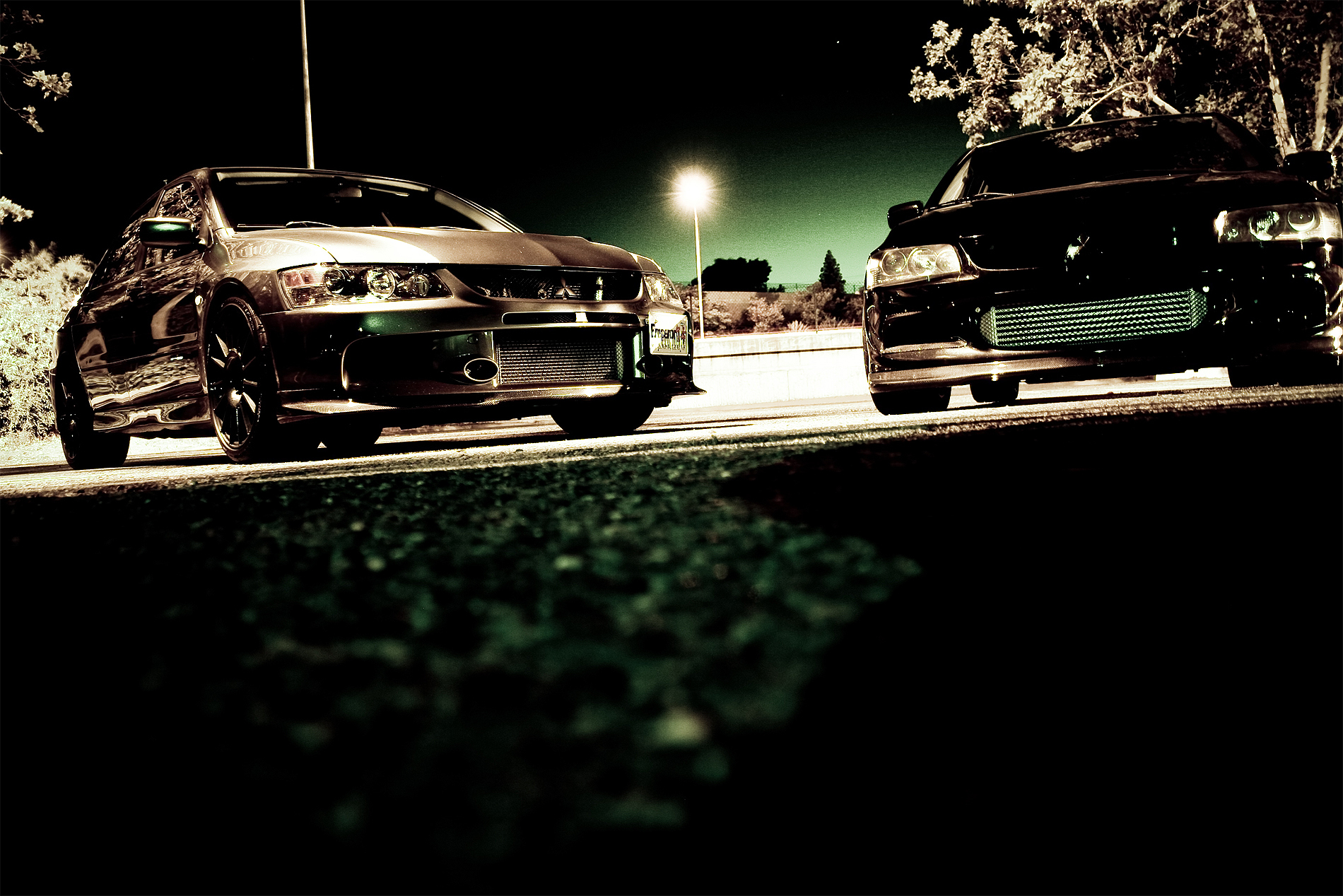 cars mitsubishi lancer HD Wallpaper