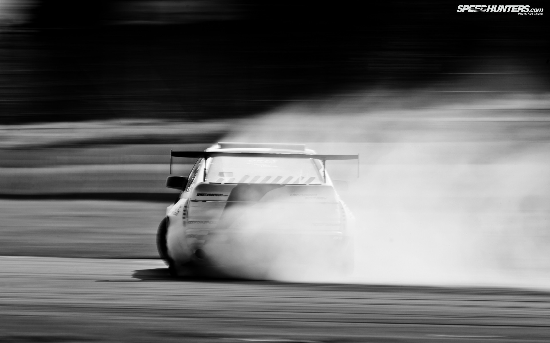 cars monochrome Drifting Mazda RX-7 FC-3S HD Wallpaper