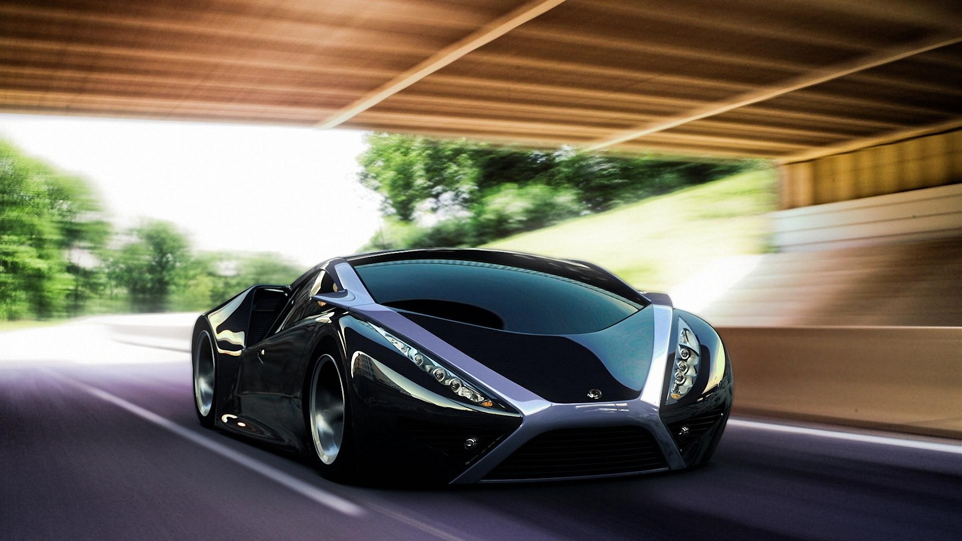 cars motion blur HD Wallpaper