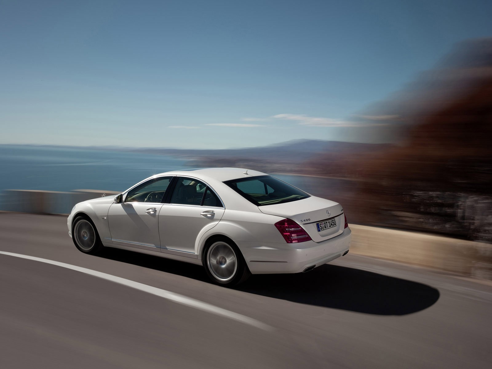 cars motion blur Mercedes-Benz HD Wallpaper