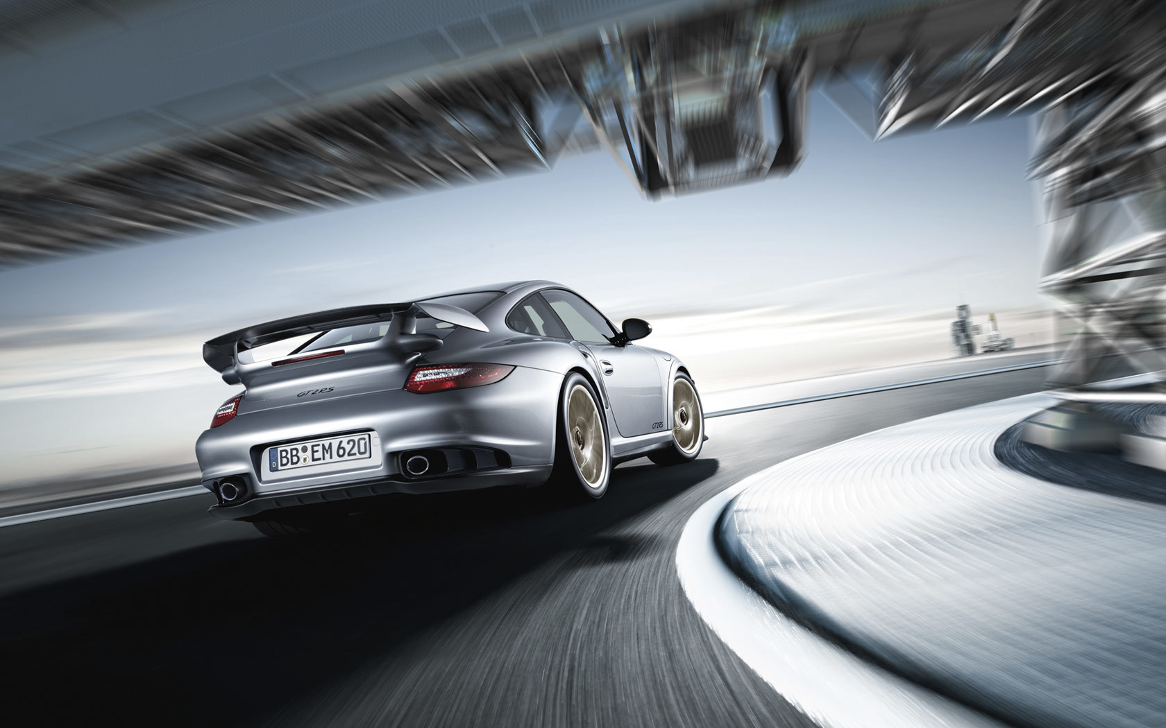 cars motion blur Porsche HD Wallpaper