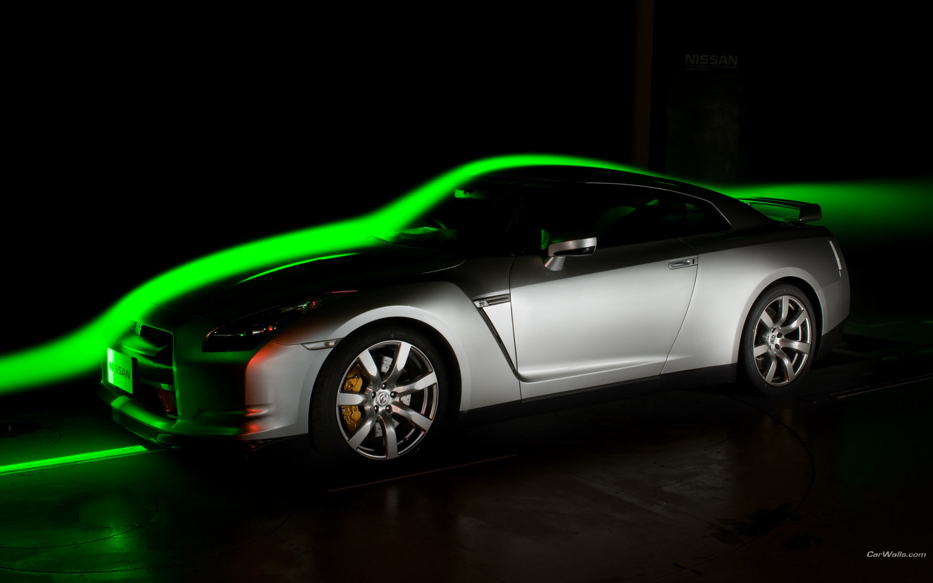 cars Nissan GT-R wind HD Wallpaper