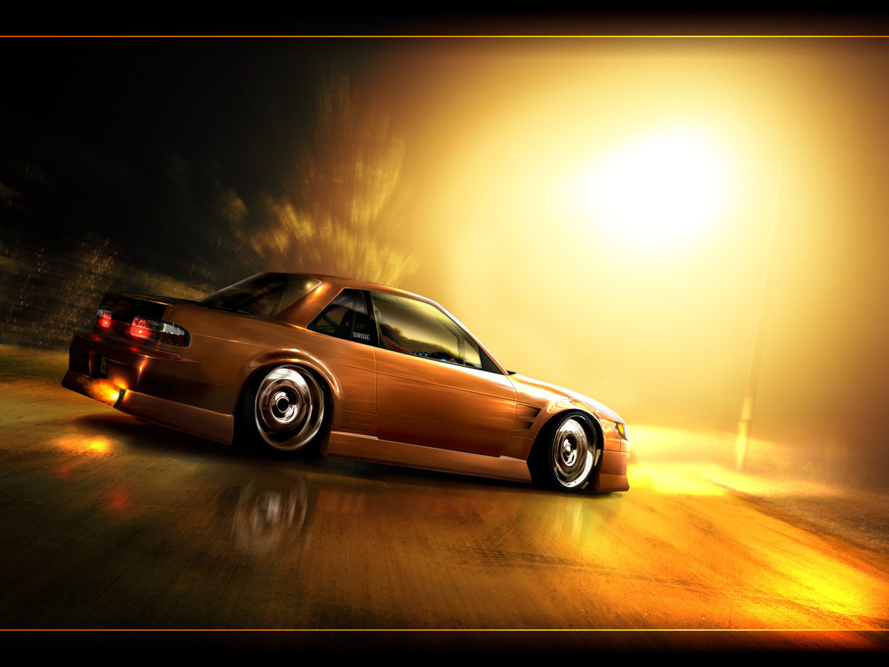 cars Nissan Silvia S13 HD Wallpaper