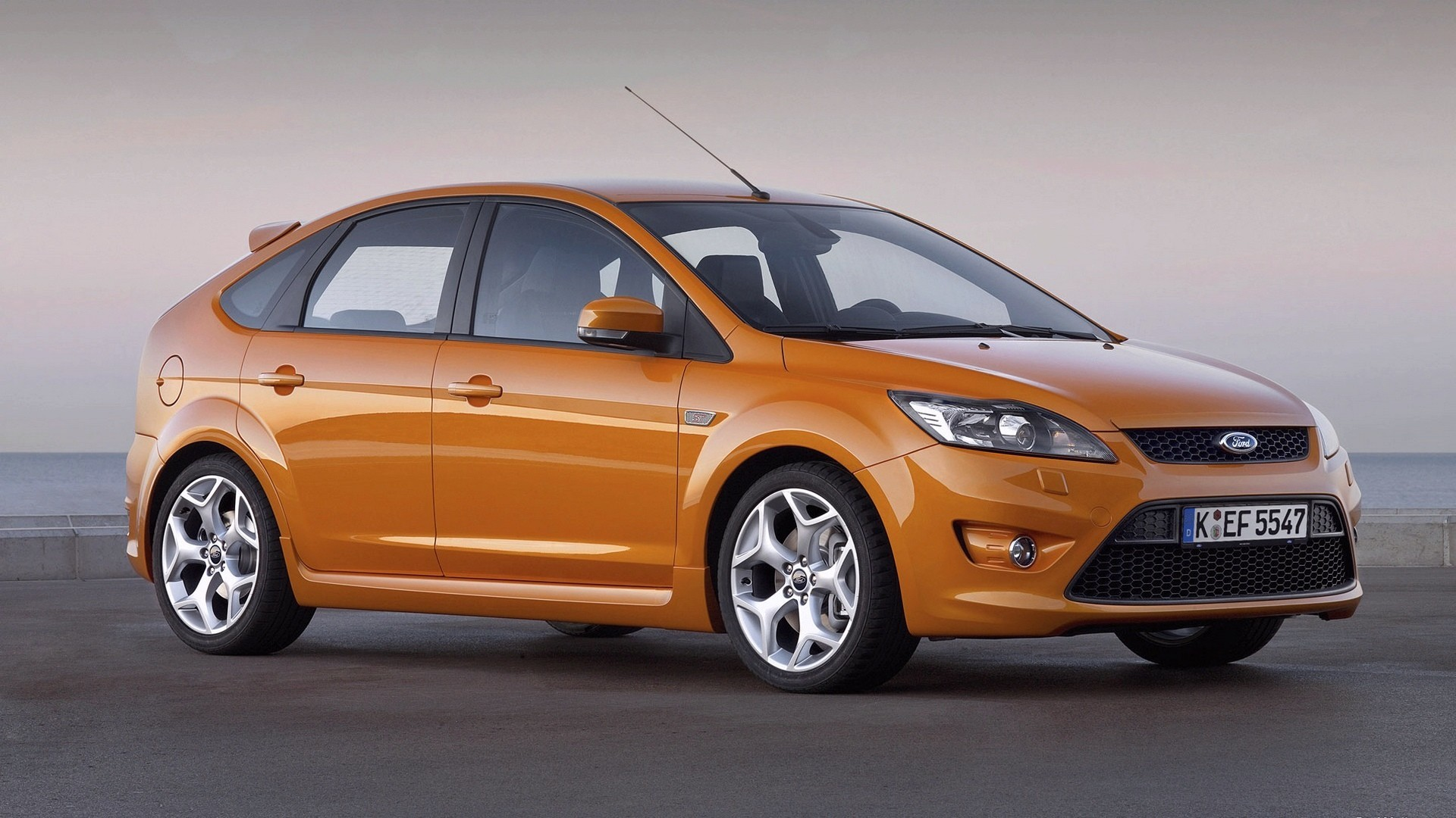 cars orange Ford ford HD Wallpaper