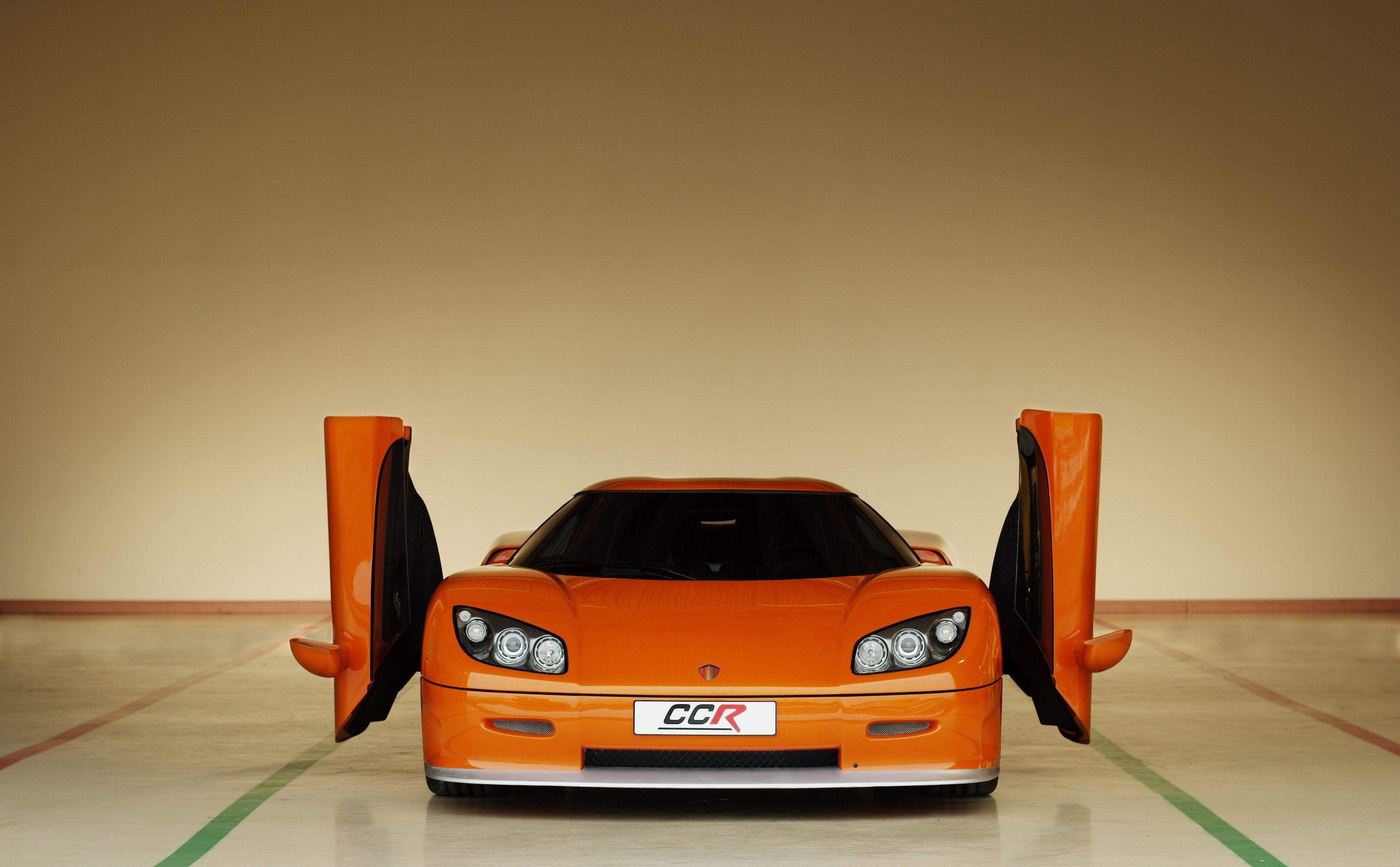 cars orange vehicles Koenigsegg