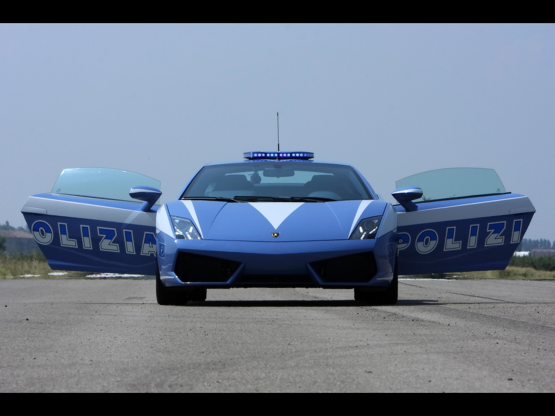 cars police Lamborghini vehicles HD Wallpaper