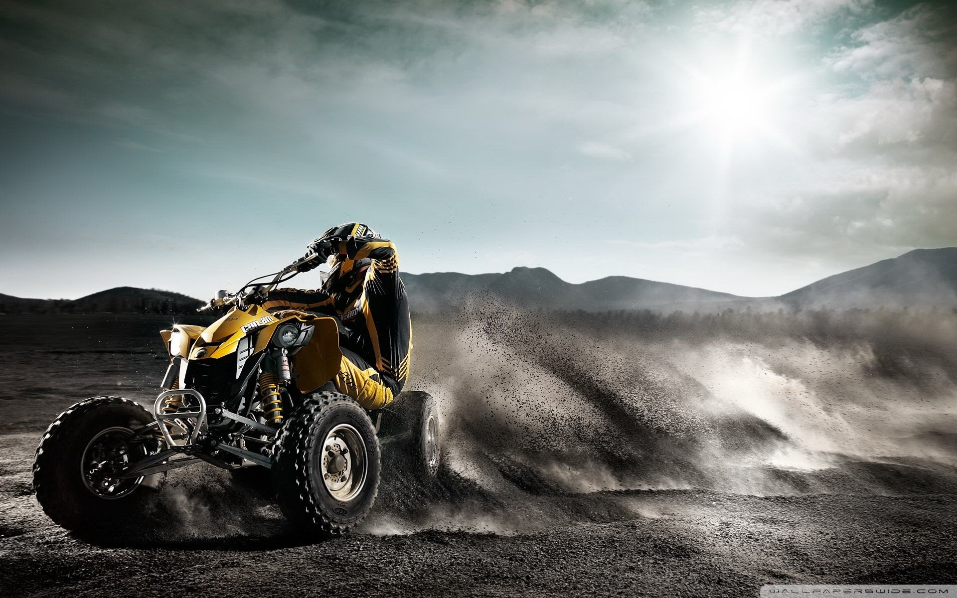 cars racing ATV brp HD Wallpaper
