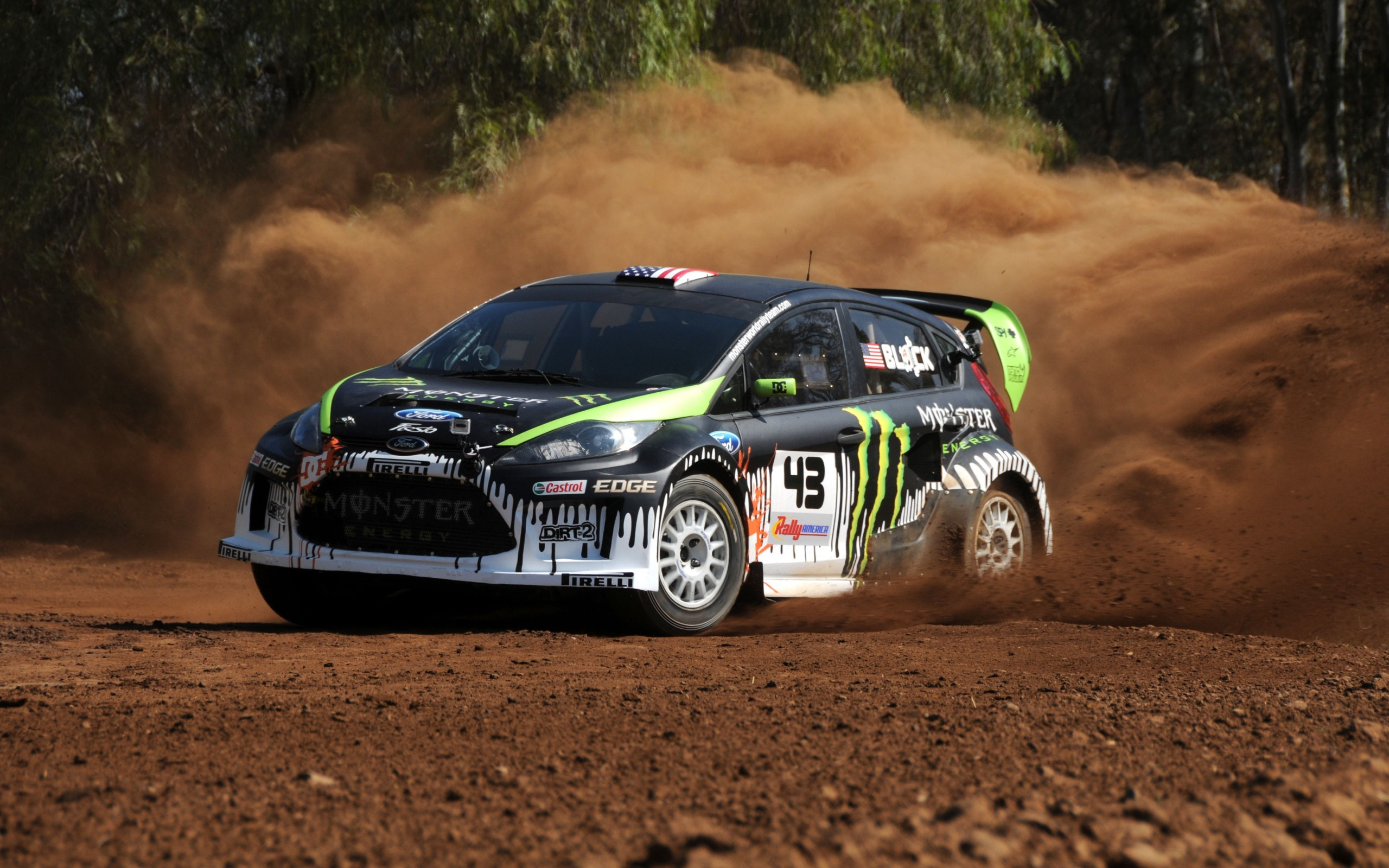 cars rally Ford Fiesta HD Wallpaper