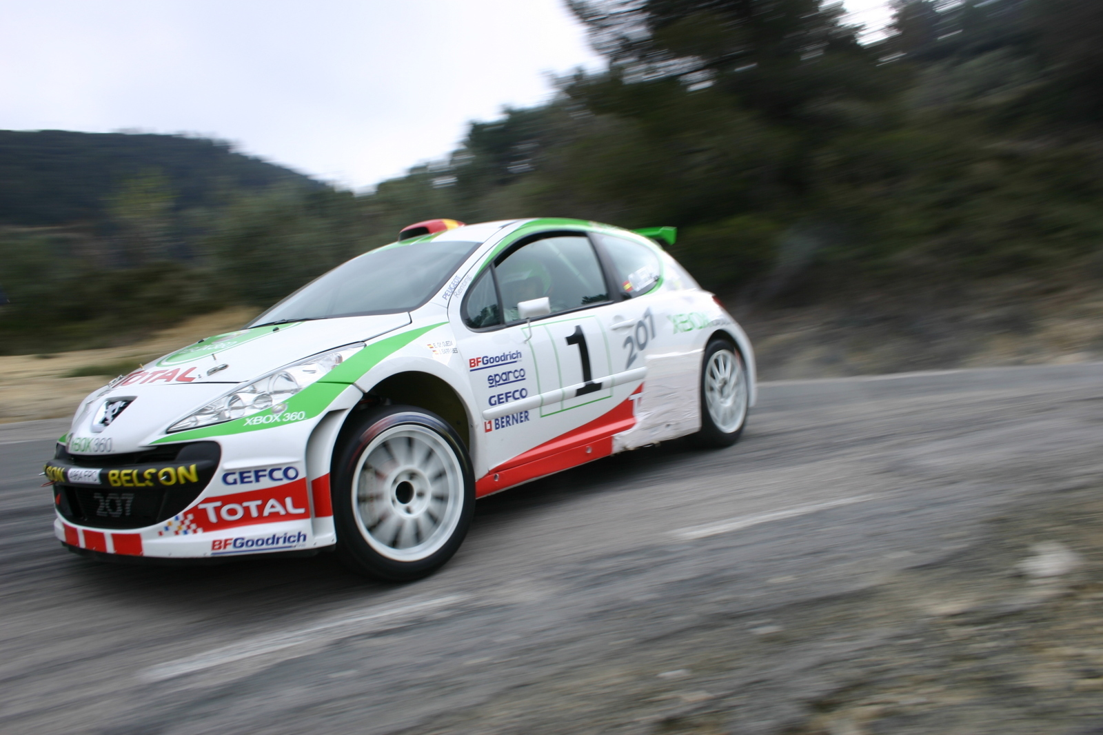 cars rally Peugeot racing