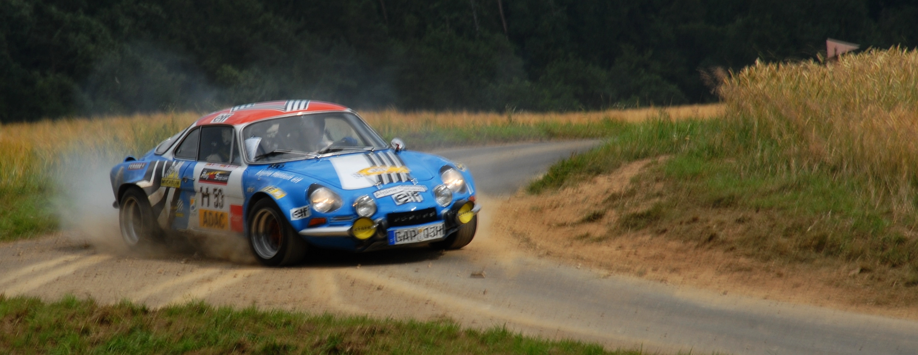 cars rally Renault Alpine HD Wallpaper