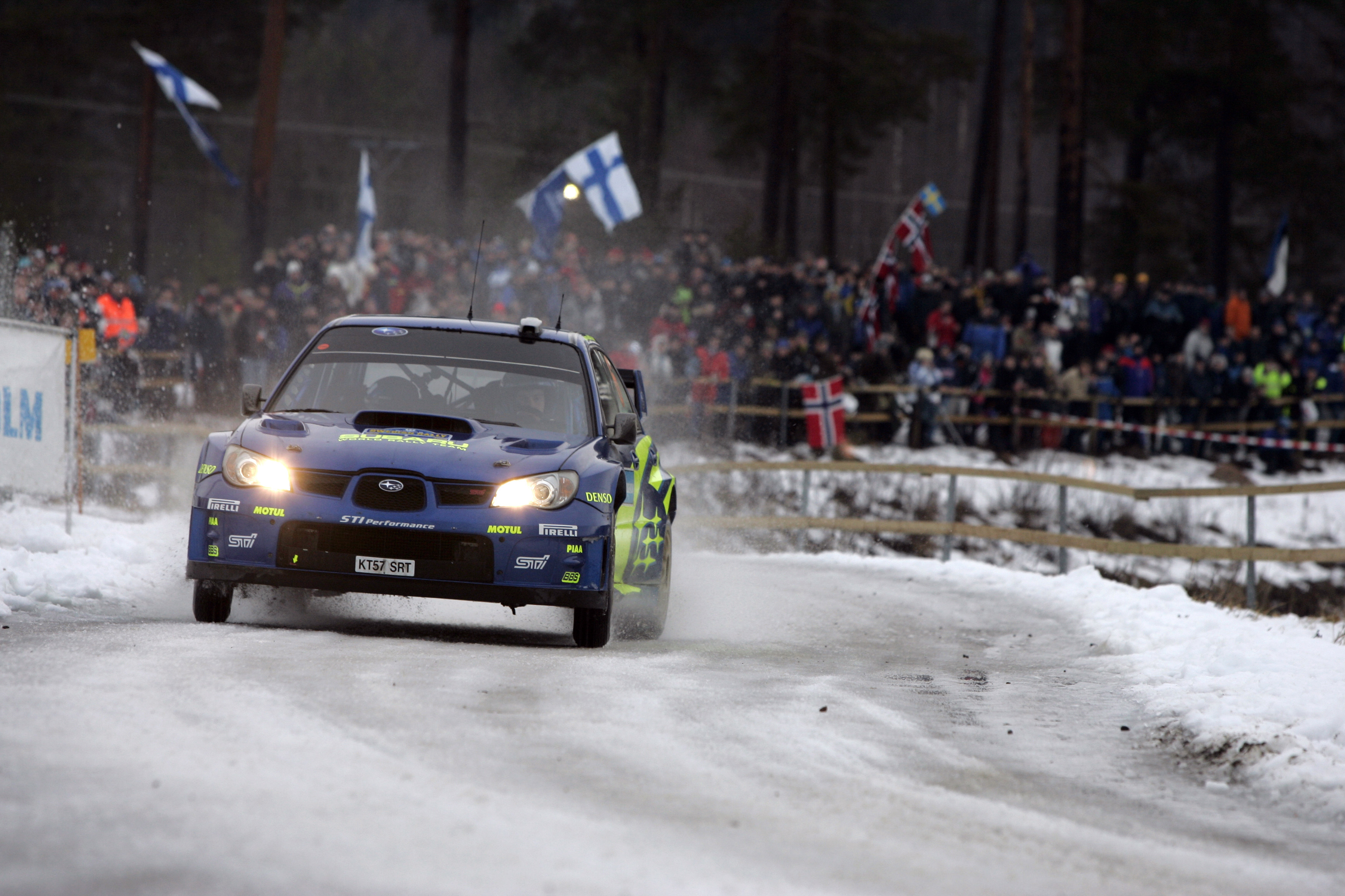 cars rally Subaru Sti HD Wallpaper