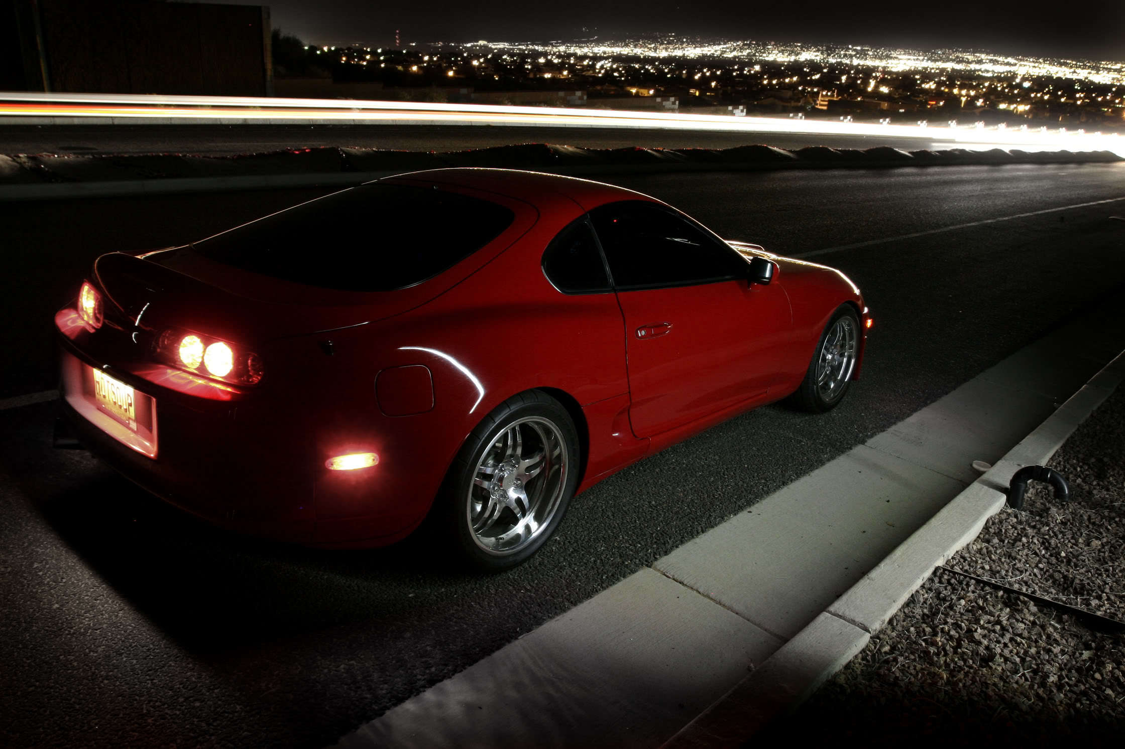 cars roads Toyota supra HD Wallpaper