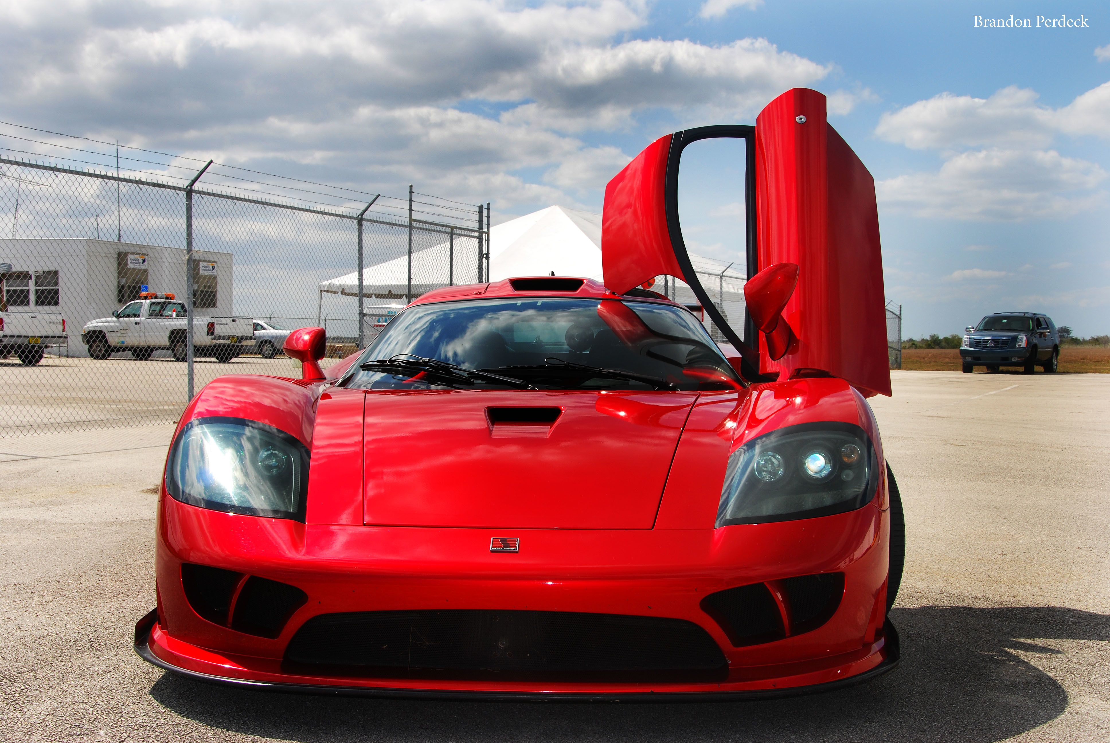 cars Saleen red cars HD Wallpaper