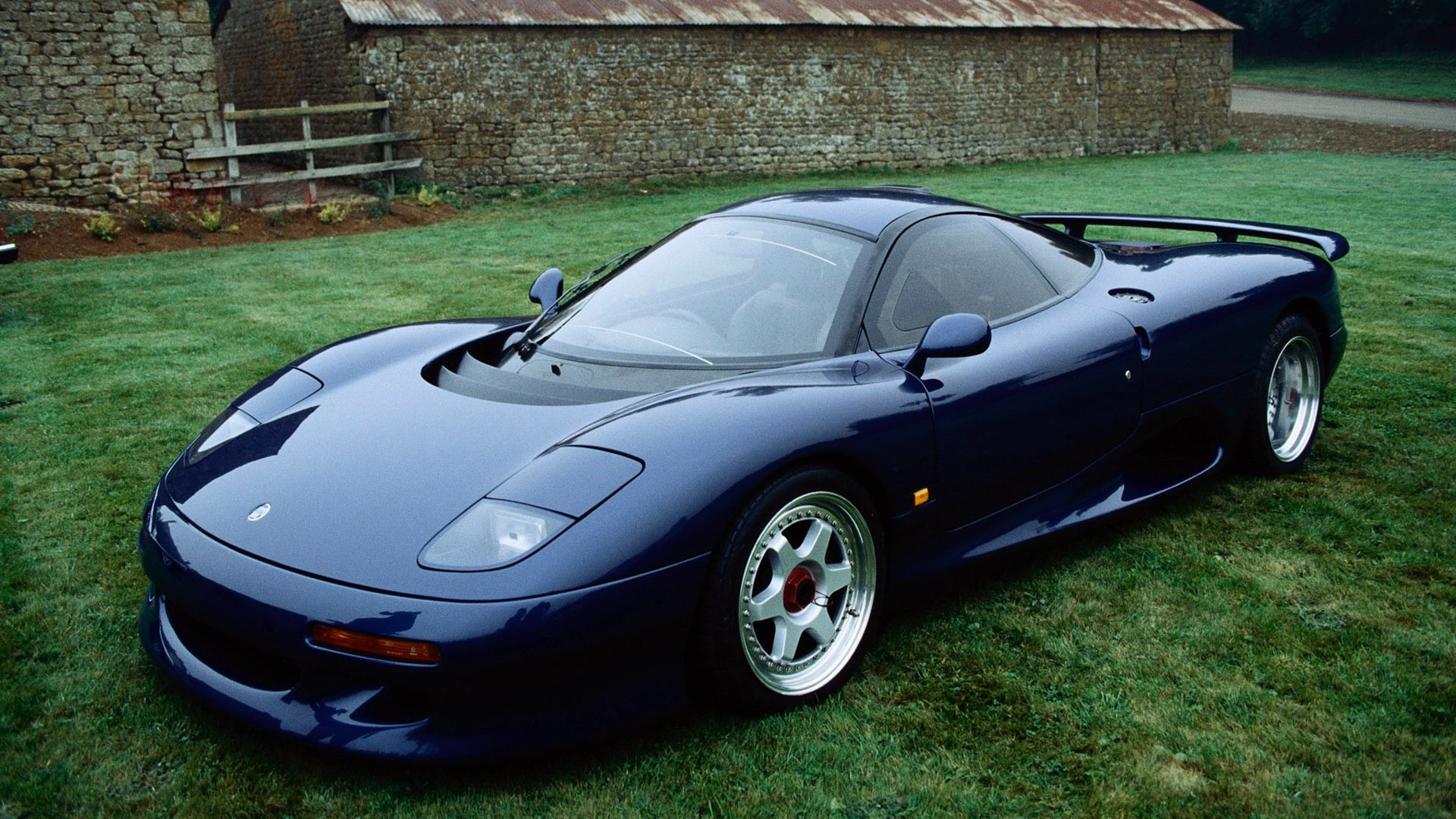 cars Sports Jaguar XJR-15 HD Wallpaper