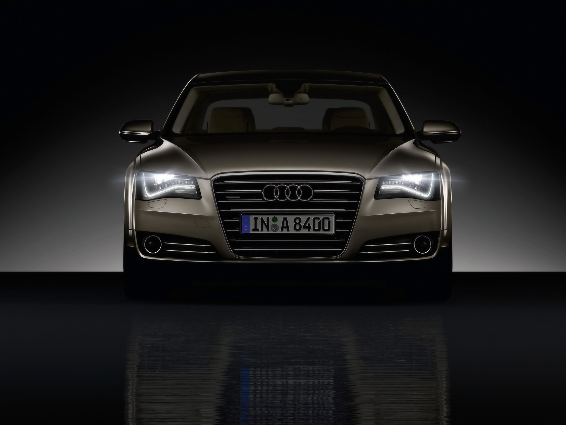 cars studio audi a8 HD Wallpaper