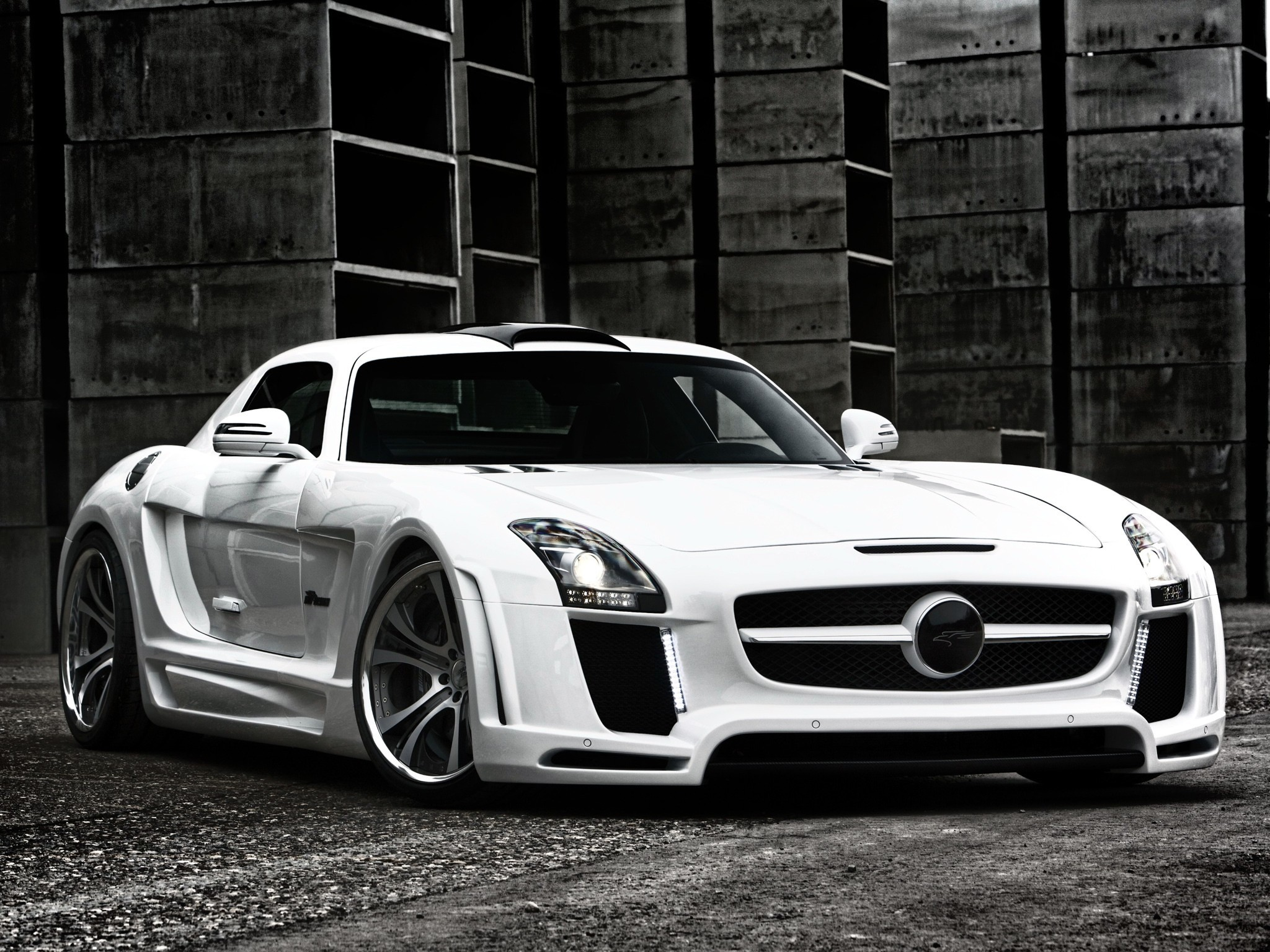 cars Supercars mercedes-benz sls
