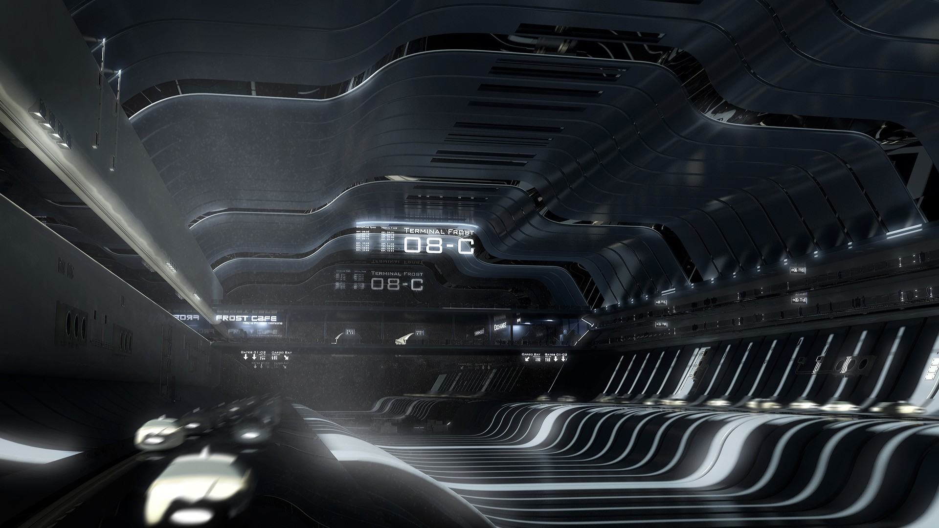 cars Terminal frost science HD Wallpaper