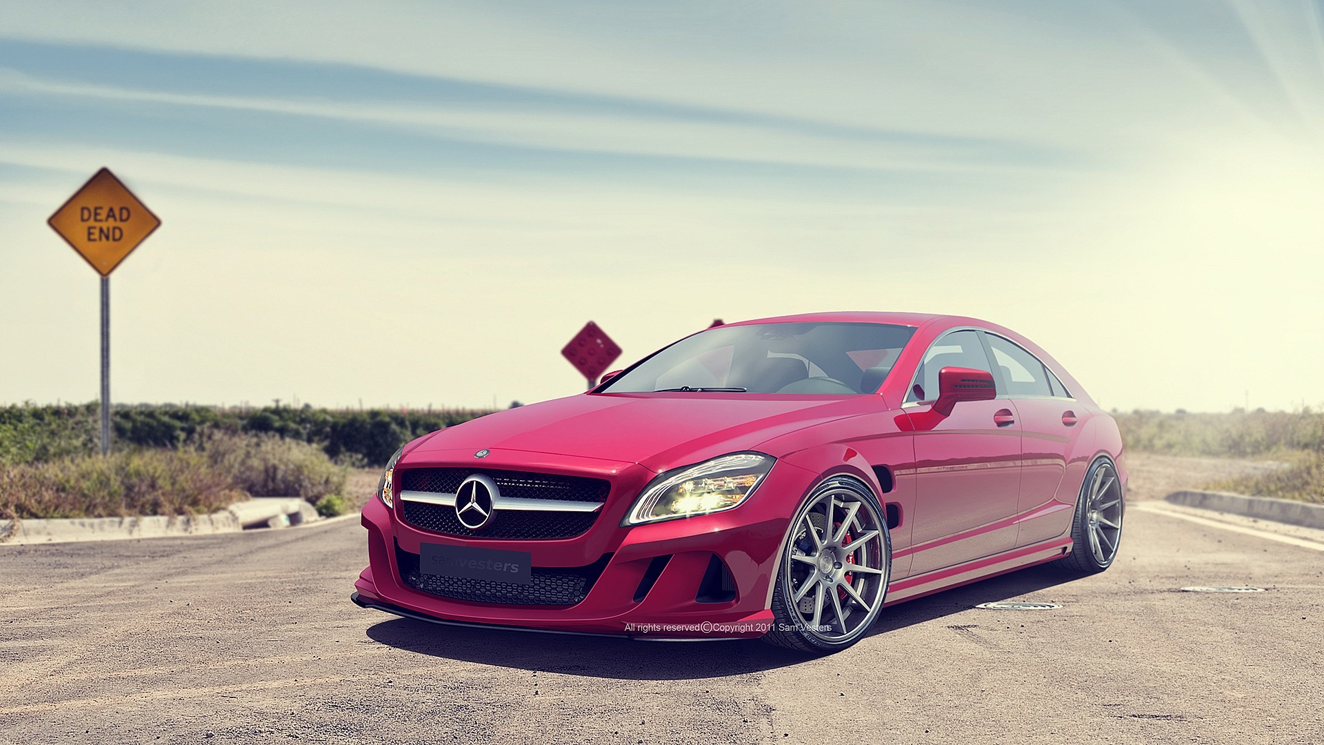 cars tuning Mercedes-Benz HD Wallpaper