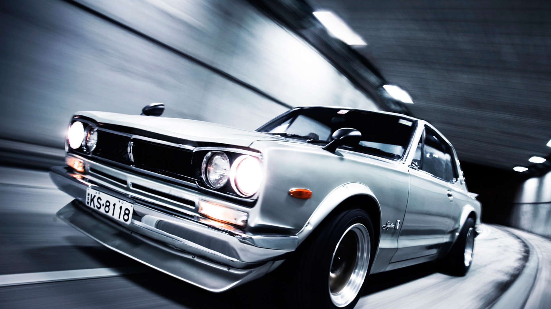 cars tunnels Nissan Nissan HD Wallpaper
