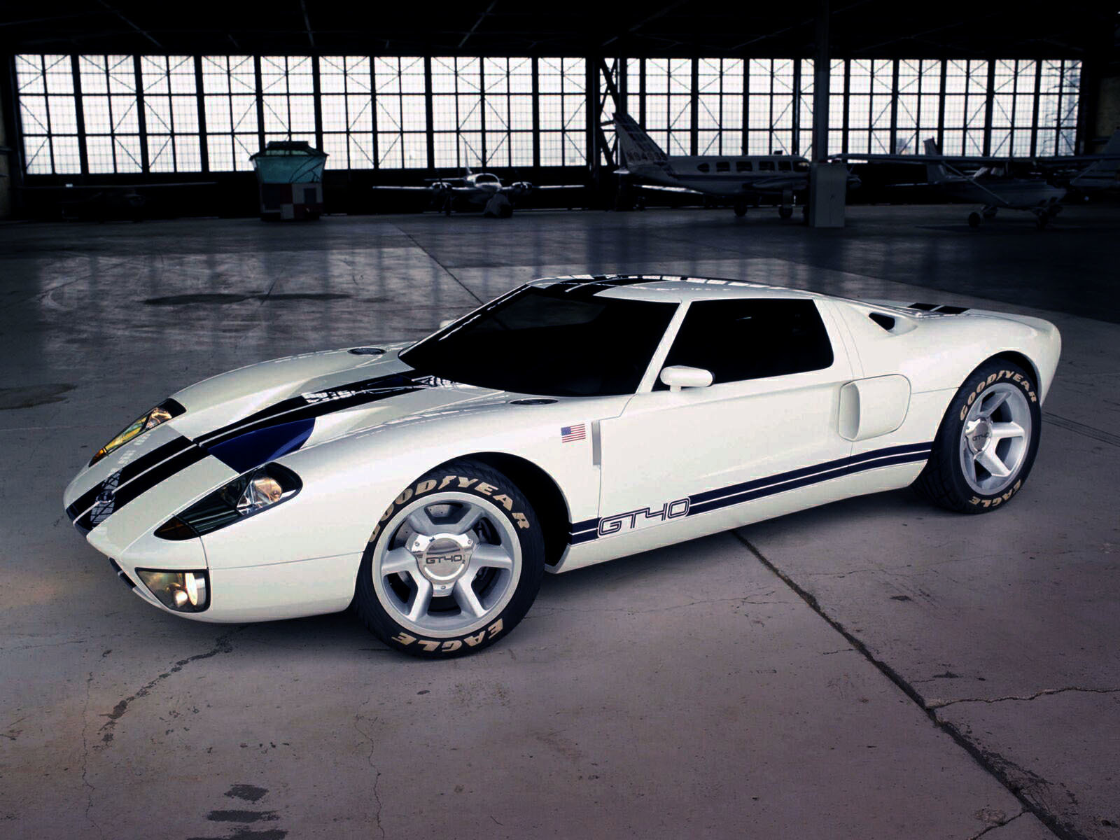 cars vehicles Ford GT40 HD Wallpaper