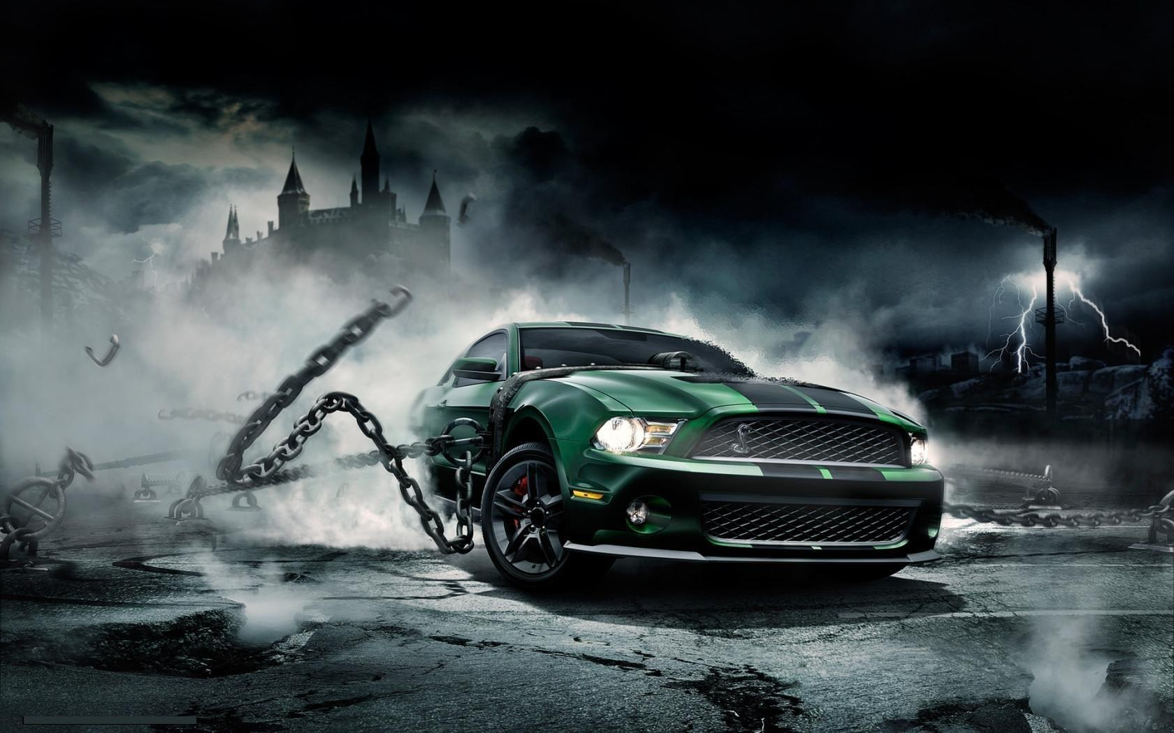cars vehicles Ford mustang