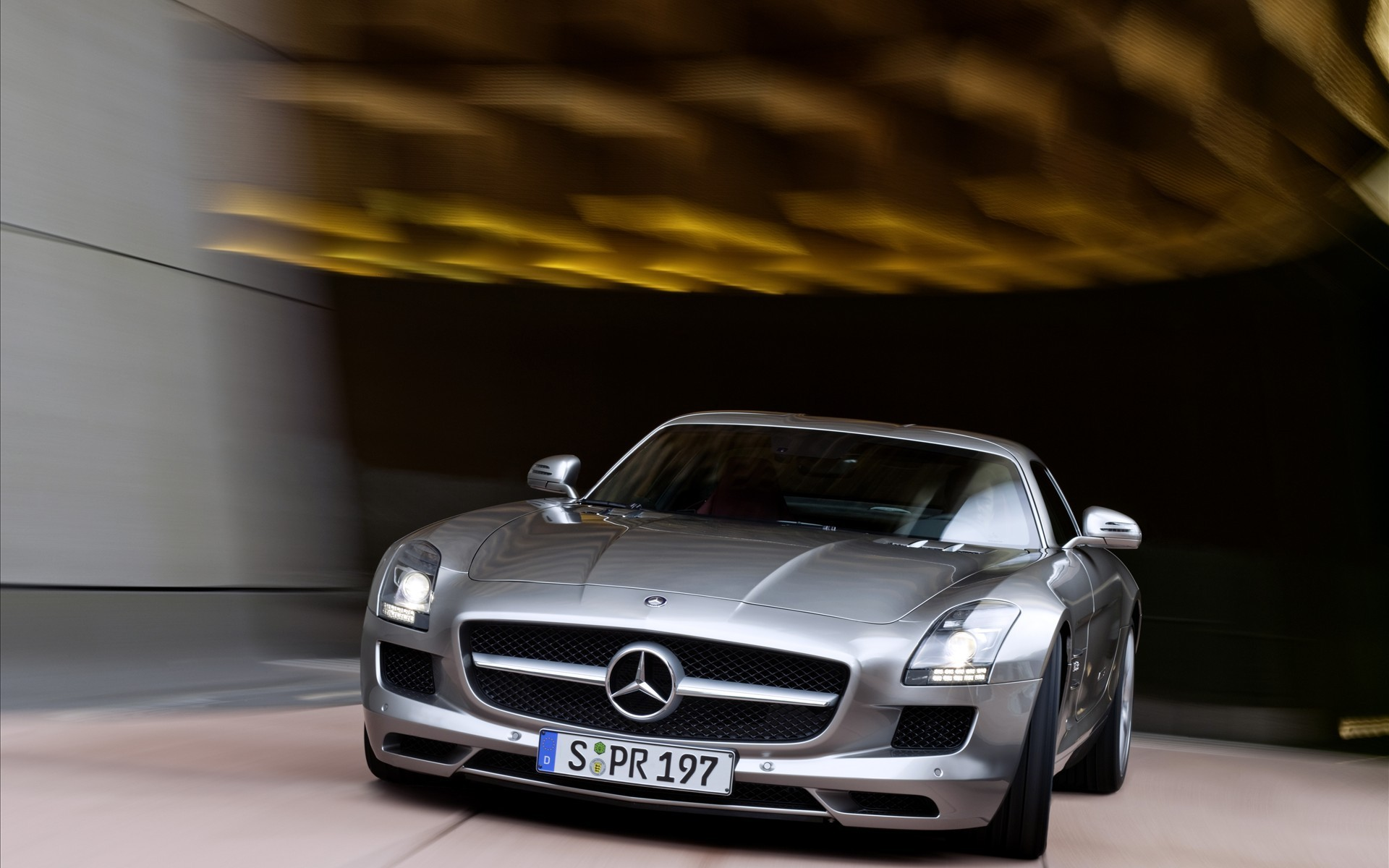 cars vehicles Mercedes-Benz SLS HD Wallpaper