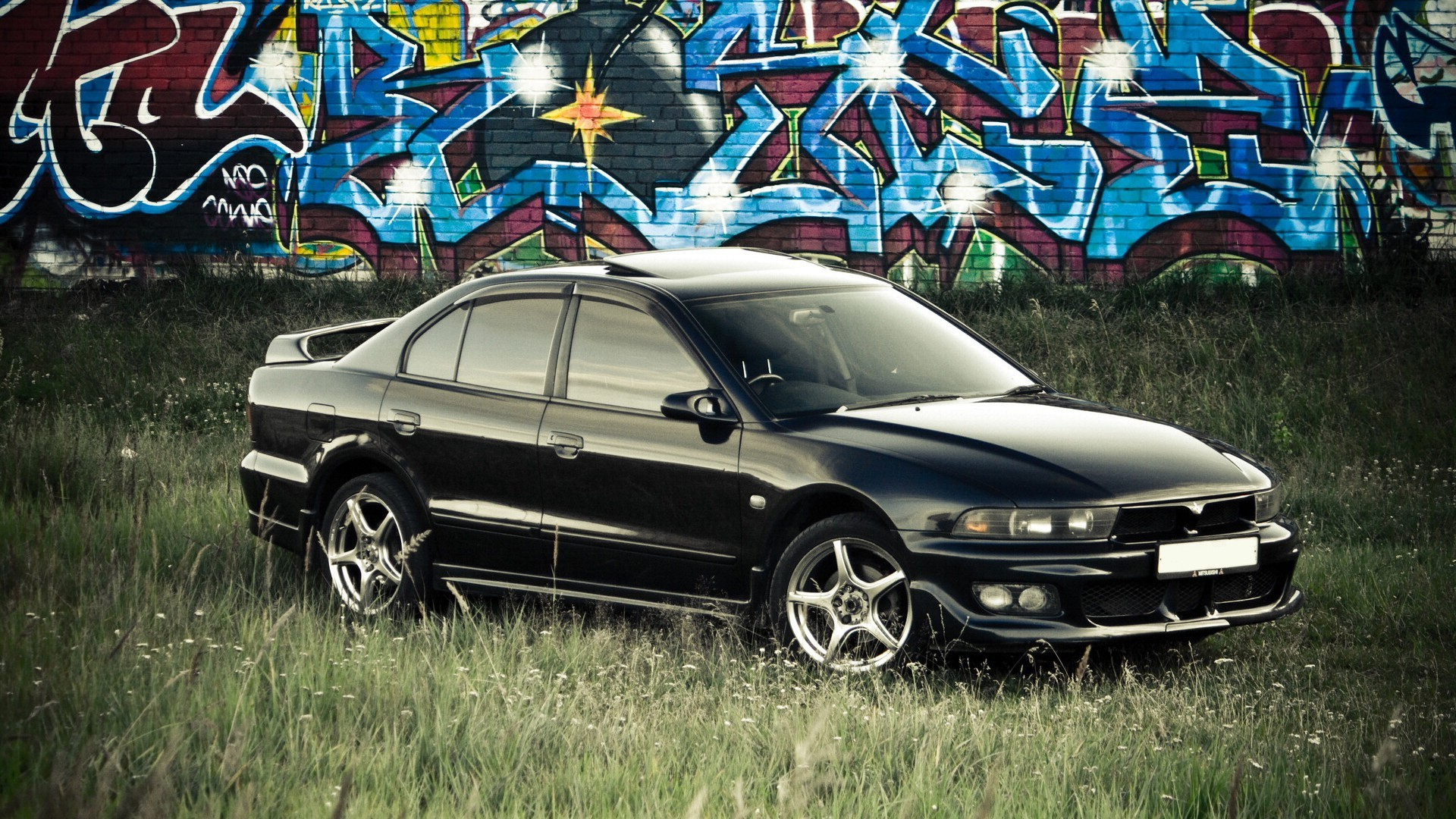 cars vehicles Mitsubishi Galant HD Wallpaper