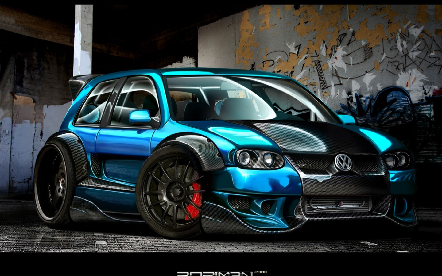 cars vehicles Volkswagen virtual HD Wallpaper