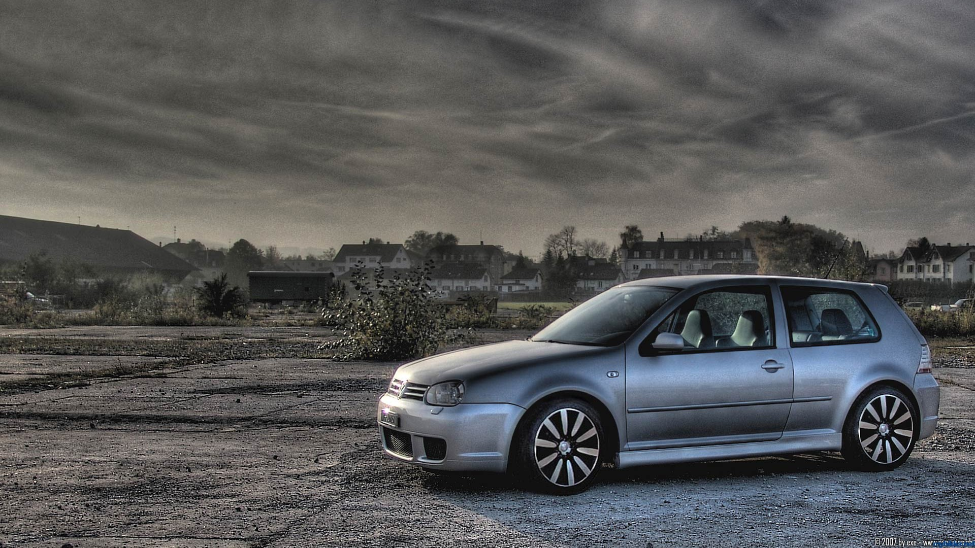 cars Volkswagen GTI HD Wallpaper